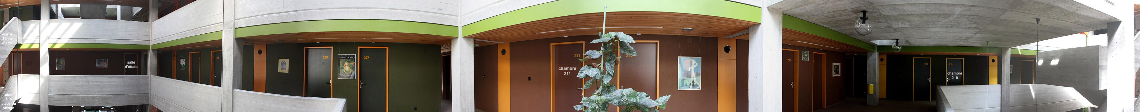 Foyer D Etudiant Architecture : Foyer d étudiants quot les creusets